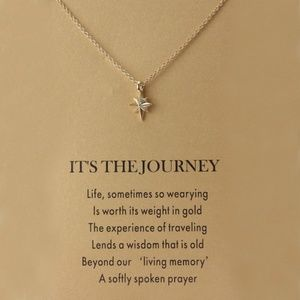 IT'S THE JOURNEY-STAR NECKLACE GOLD